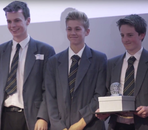 Better Dinners at Teentech Awards 2015