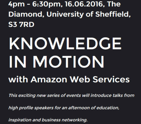 Knowledge in Motion with Amazon Web Services